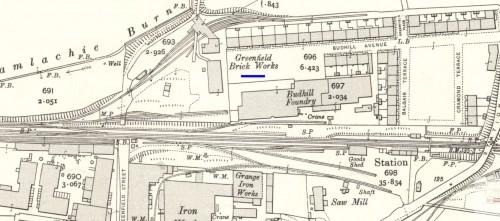 1910 Greenfield brickworks