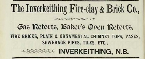 1886 inverkeithing fire clay