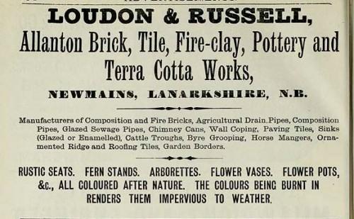 1886 loudon russell allanton newmains