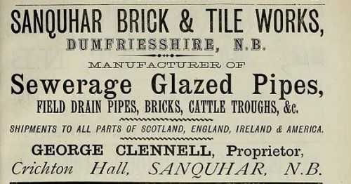 1886 sanquhar george clennell