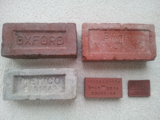 Presentation bricks from Donna