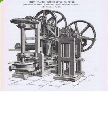 1892 Stiff Plastic Brick Making Machine Craven Wakefield