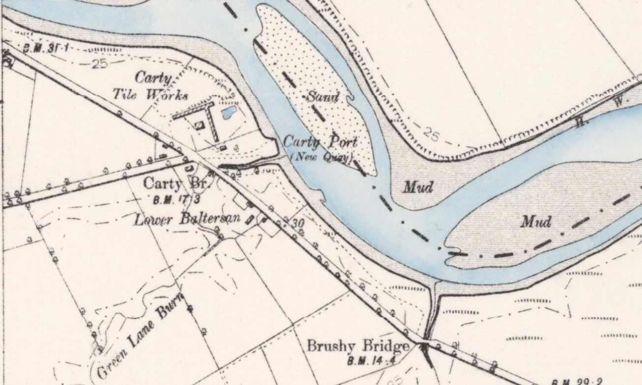 Carty Tile works 1894