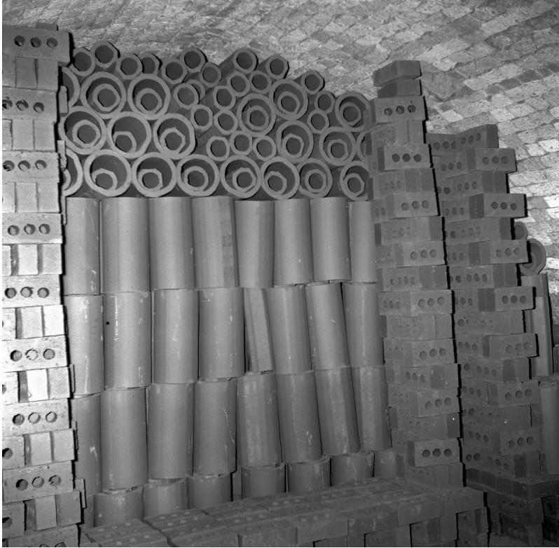 Cruden Bay cored bricks