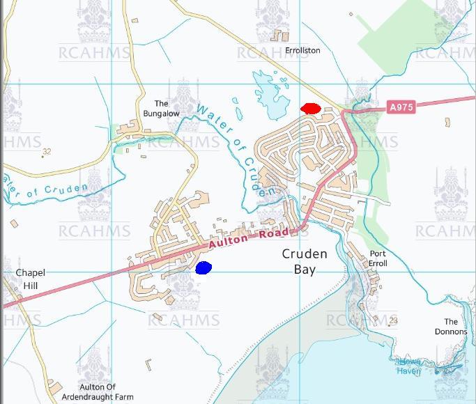Cruden bay brick works map