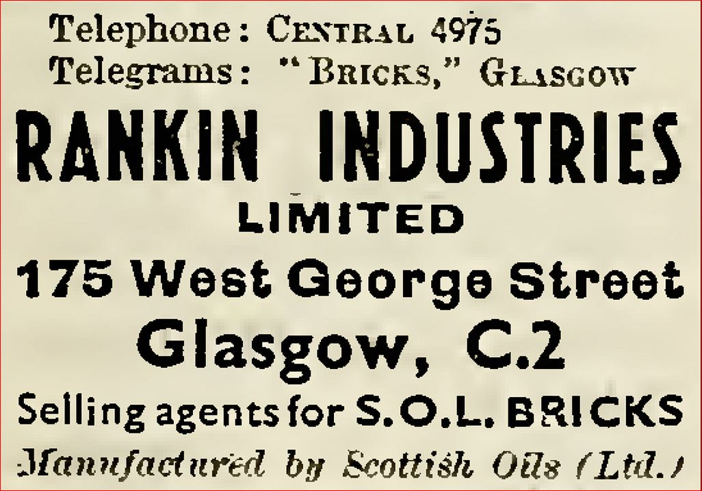 Rankin Industries scottish oils SOL bricks