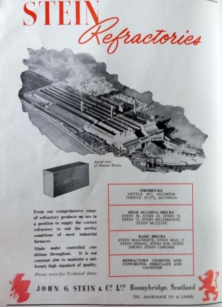 Stein advert 1960