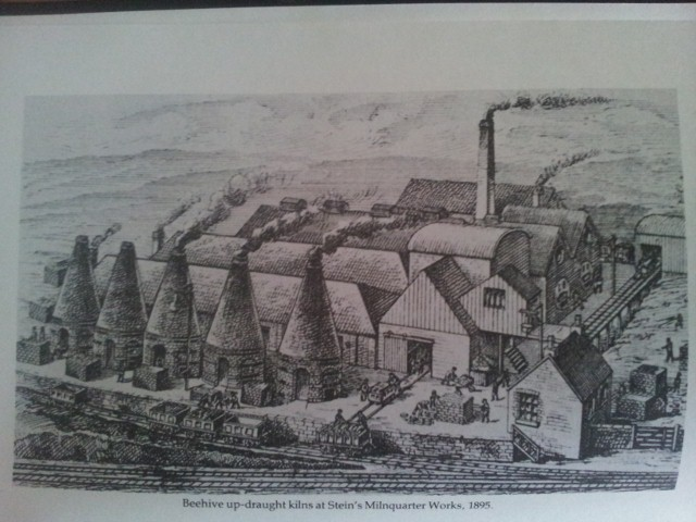 Steins Beehive kilns Milnquarter 1895