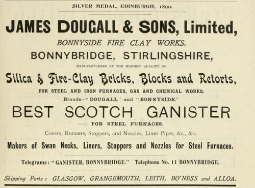 1911 advert James Dougall & Son