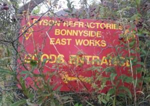 Dyson refractories Bonnyside East Works