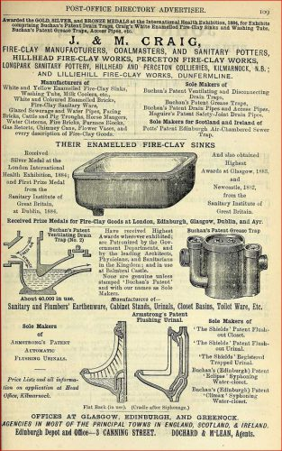 1886 J M Craig Kilmarnock advert