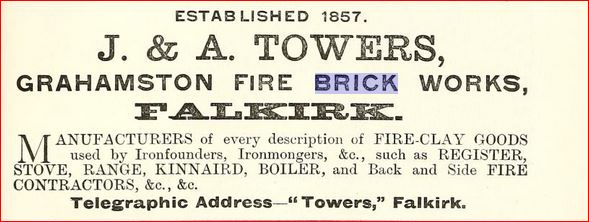 Towers advert 1893 - 94