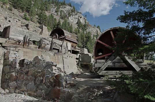 Hedley gold mine, Hedley, BC