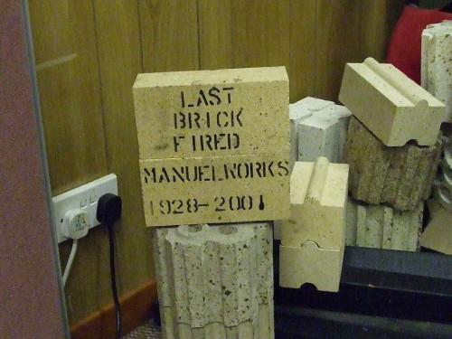 last brick fire Manuel works