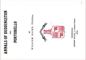 Annals of Duddingston and Portobello 1898