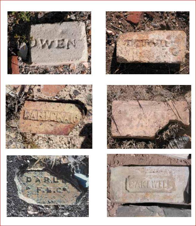 Dougall and Gartcraig bricks found at Wallaroo, Australia