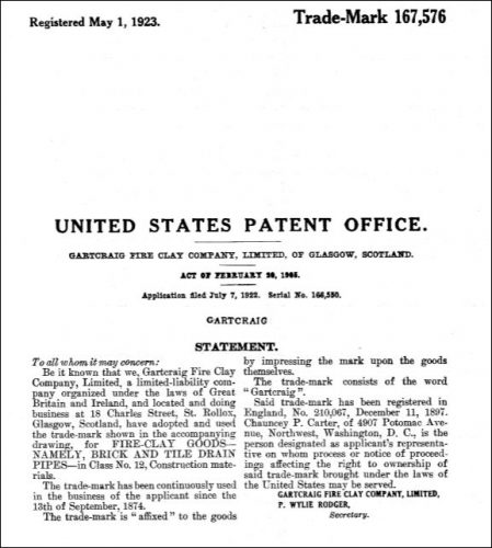 gartcraig-united-states-trade-mark