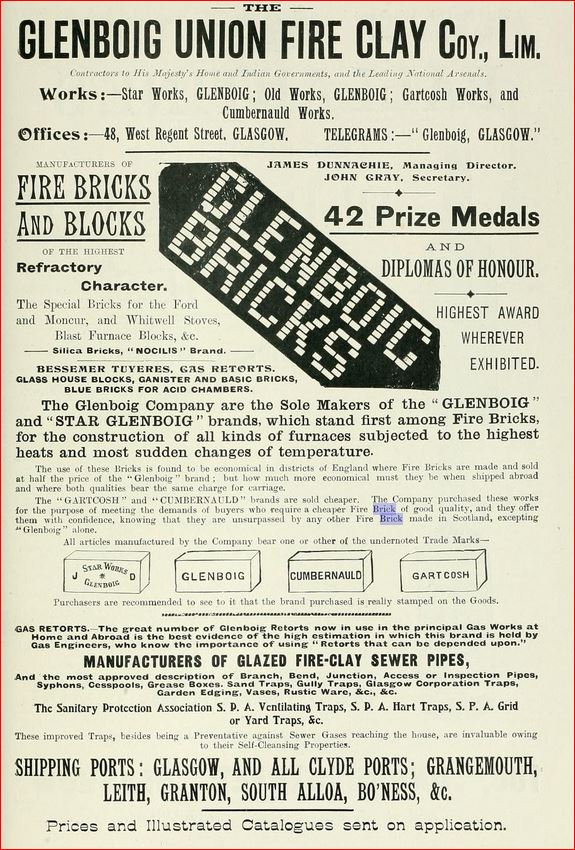 Glenboig Union Fireclay Company