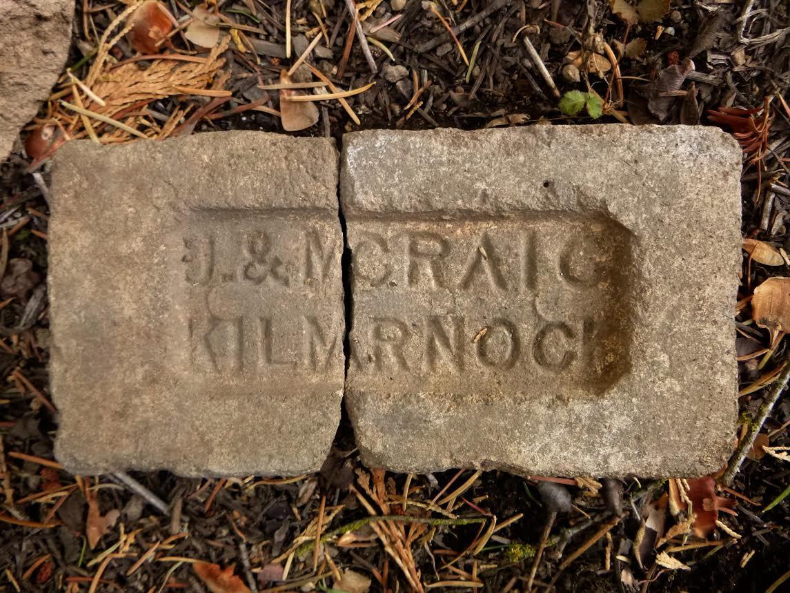 J & M Craig, Kilmarnock brick Tulare County, California