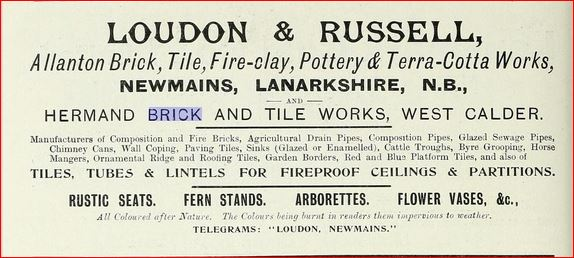 Loudon & Russell advert