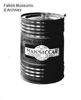 Maksiccar refractory cement container | Scotland's Brick