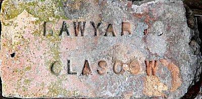 Rawyards Glasgow found in Chile by Robert Runyard