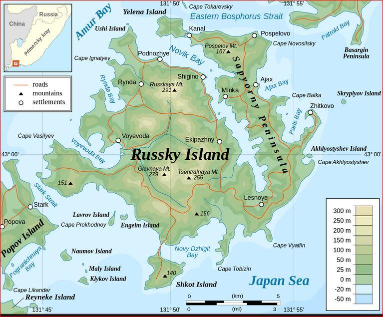 Russky Island Vladivostok