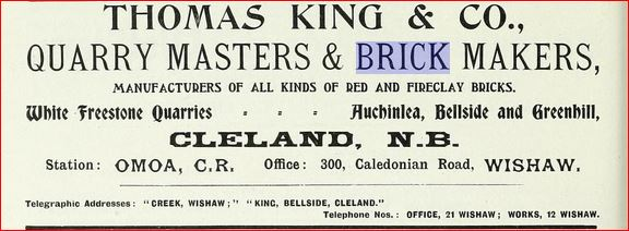 Thomas King & Co Advert