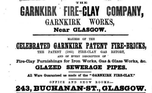 1871 Garnkirk advert
