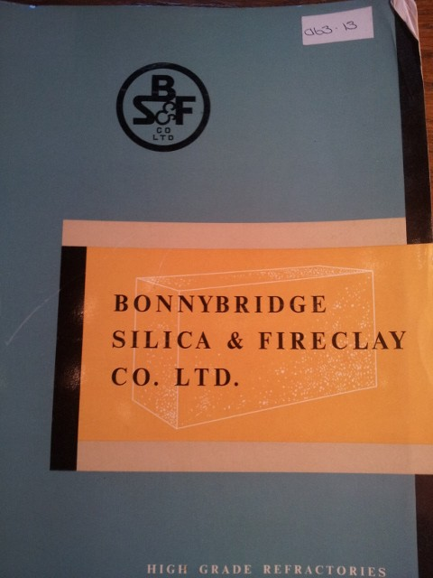 Bonnybridge Silica and Fireclay Co Ltd