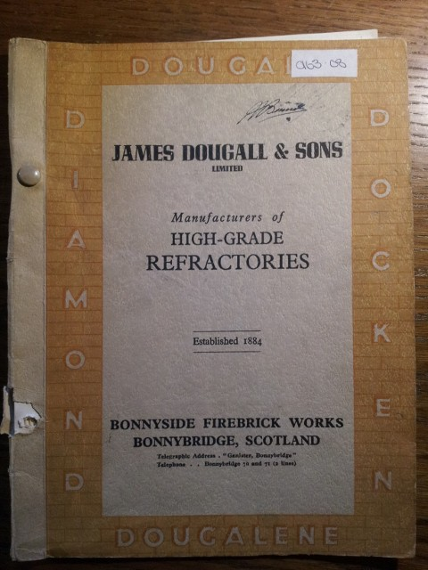 James Dougall & Sons Refractory catalogue - Diamond