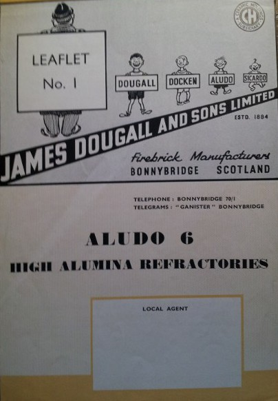 James Dougall & Sons, Brickmakers, Bonnyside ALUDO 6