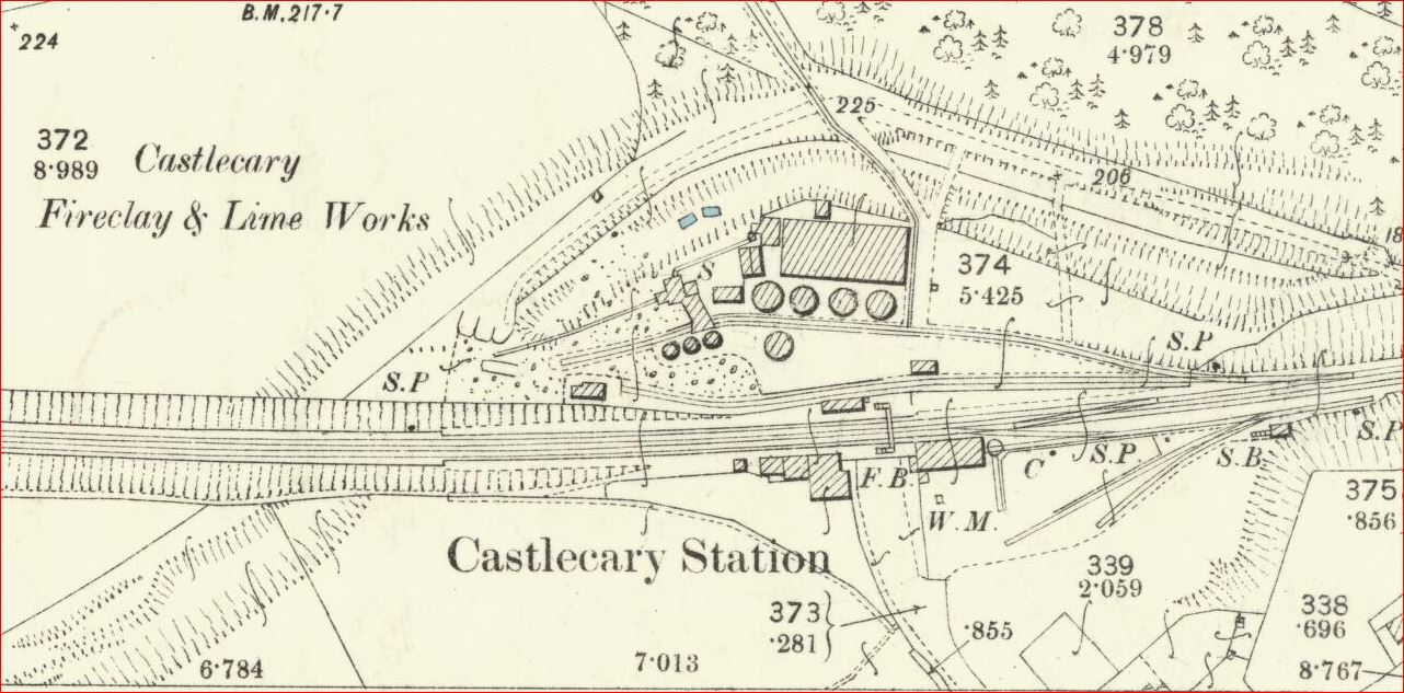 Castlecary Fireclay and Lime Works 1896