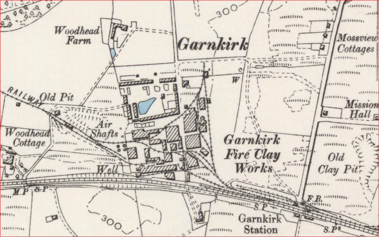 Garnkirk Fire Clay Works 1897