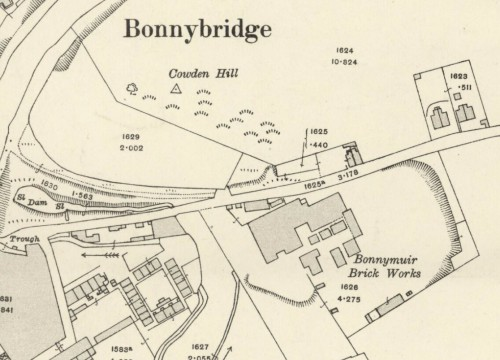bONNYMUIR BRICK WORKS 1918