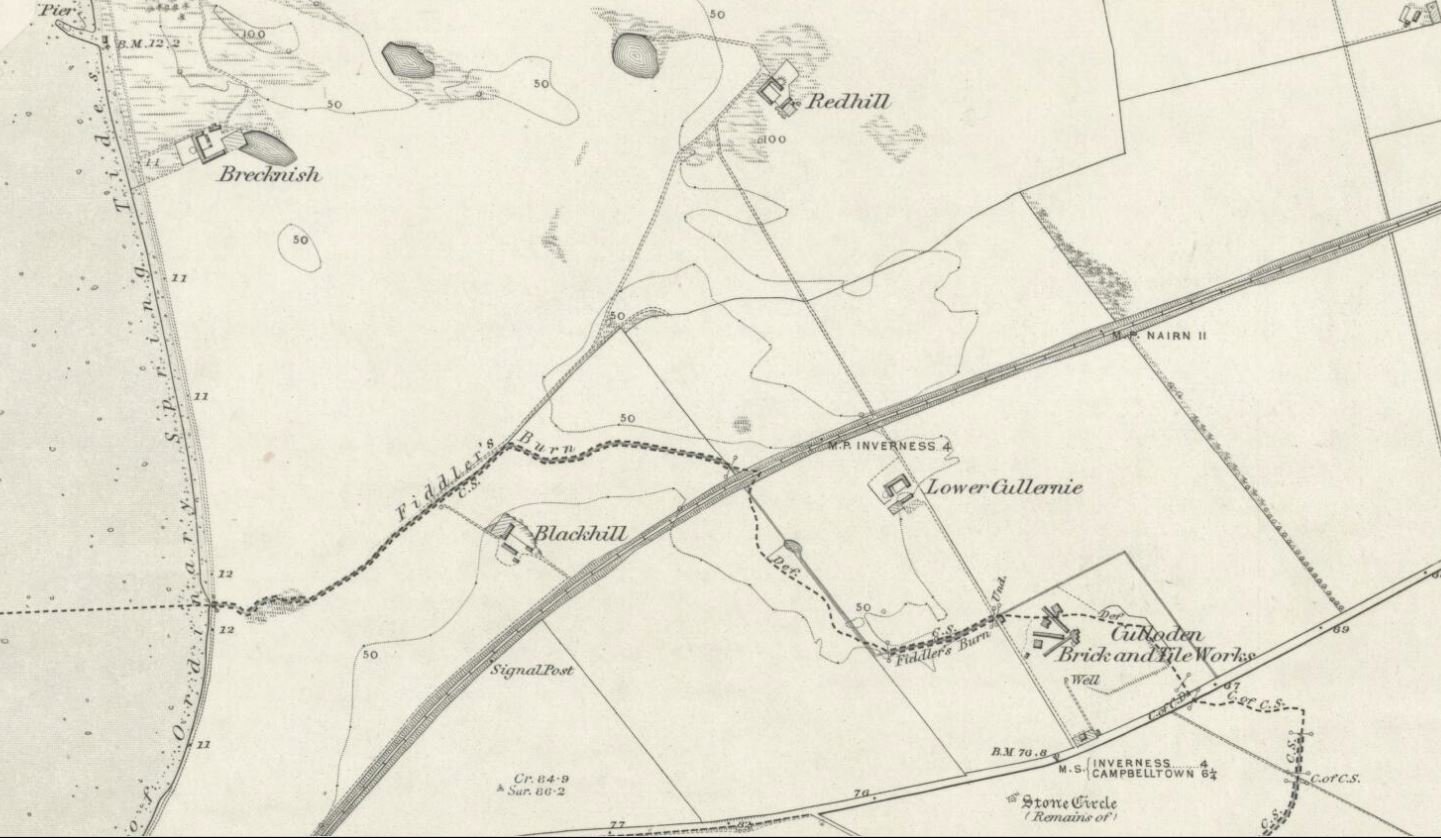 1874 Culloden Tile Works Redhill and Brecknish