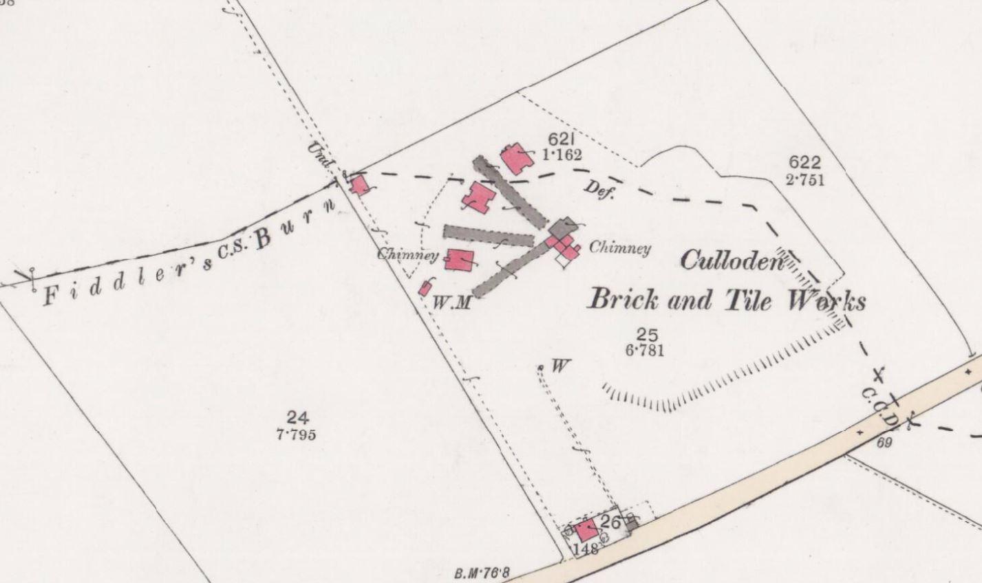 1878 Culloden brickworks, Newton, Inverness