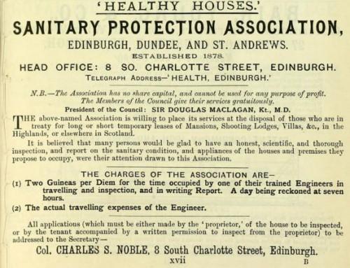 1893 Dantitary Protection Association