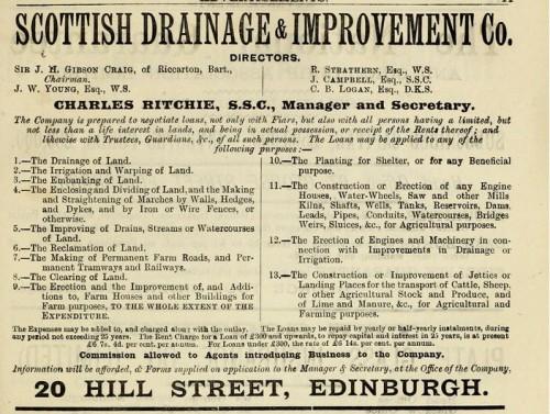 1893 Scottish Drainage & Improvements Co