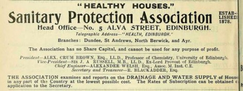 1904 Sanitary Protection Association