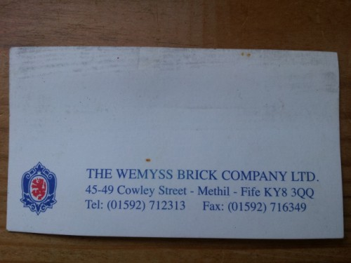 wemyss business card