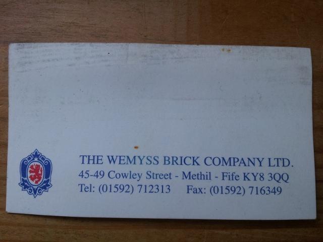 wemyss business card