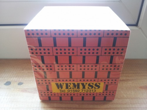 Wemyss note pad block