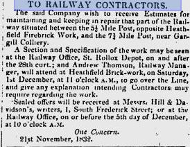 26-11-1832 Heathfield Brick Works