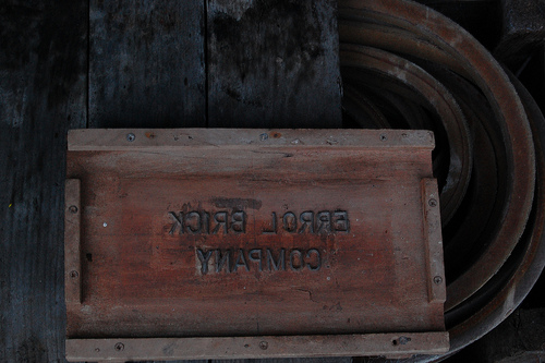 ERROL BRICK COMPANY STAMP MOULD