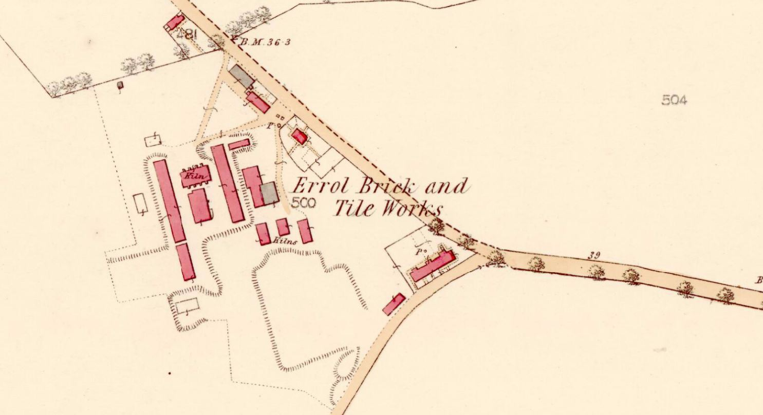 Errol Brick and Tile Works 1861.