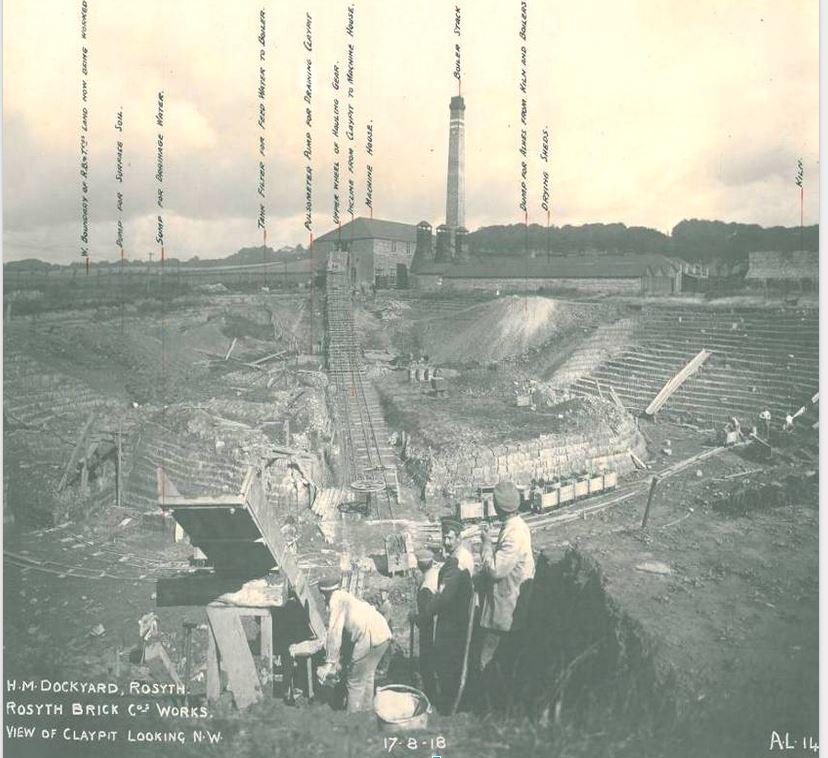 Rosyth brickworks claypit - Copy