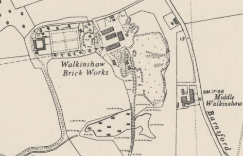 walkinshaw brick works pit 2 1939