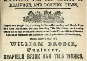 Seafield Brick And Tile Works Dunbar Scotland S Brick