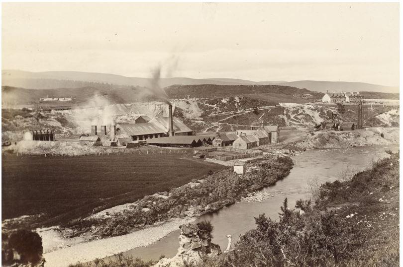 Brora Brickworks c.1889